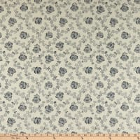 Abigail Blue Trellis Rose Cream