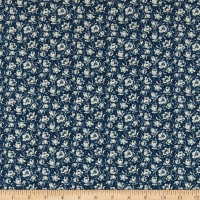Abigail Blue Packed Floral Navy