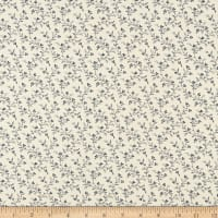 Abigail Blue Trailing Vines Cream