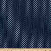 Abigail Blue Circle Dot Navy
