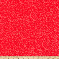 Windham Fabrics Candy Cane Lane Christmas Ivy Red