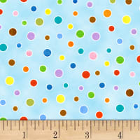 On the Go Polka Dot Blue