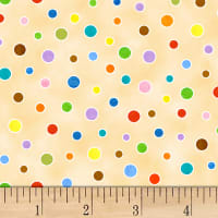 On the Go Polka Dot Cream