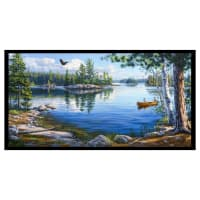 "Blue Waters 24"" Lake Panel Black"