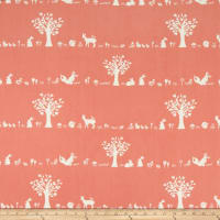 Birch Organic Storyboek Drie Forest Friends Coral