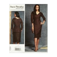 Vogue V1602 Paco Peralta Misses' Top & Skirt A5 (Sizes 6-14)