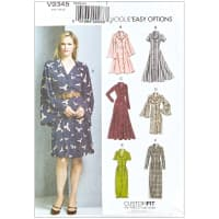 Vogue V9345 Very Easy Custom Fit Misses' Dress A5 (Sizes 6-14)