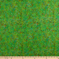 QT Fabrics Evolution Radiance Ribbons Green