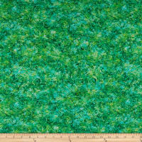 QT Fabrics Evolution Radiance Scroll Green