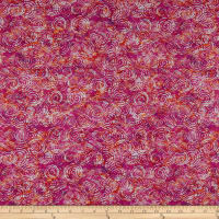 QT Fabrics Evolution Radiance Scroll Pink