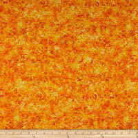 QT Fabrics Evolution Radiance Scroll Yellow