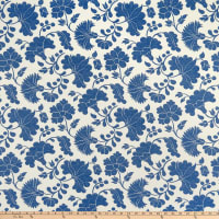 Artistry Otomi Inspired Flower Jacquard Denim