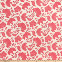 AMERICAN MADE Artistry Otomi Inspired Flower Jacquard Pink