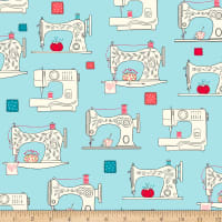 Ink & Arrow Sew What? Sewing Machines Aqua