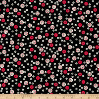 Ink & Arrow Sew What? Button Toss Black