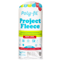Poly-Fil Polyester Low-Loft Batting Full