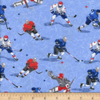 Mook Cotton Hockey Players Light Blue