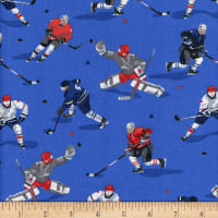 Mook Cotton Hockey Players Royal