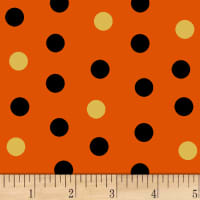 Cheekyville Dots  Orange