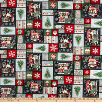 Yuletide Cheer Patchwork Black/Red