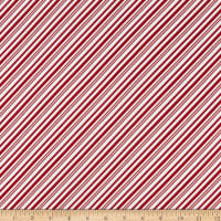 Yuletide Cheer Peppermint Stripe Red