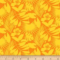 Gone Wild Tropical Foliage Yellow