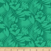 Gone Wild Tropical Foliage Green