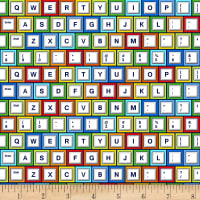 Saved By The Bell Keyboard White