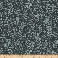Snowy Magic Sprigs Teal