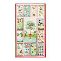 Andover/Makower UK Twelve Days Twelve Days of Christmas Panel Multi