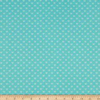 Andover Hearts Turquoise