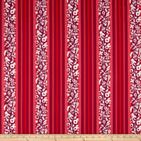 Andover Holiday Stripe Cinnamon