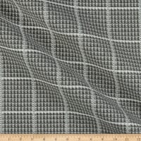 Artistry Coates Plaid Basketweave Jacquard Pewter