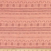 AMERICAN MADE Artistry Tribal Southwest Bogola Mud Cloth Quilted Jacquard Bloomsbury