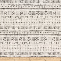 Artistry Tribal Southwest Bogola Mud Cloth Quilted Jacquard Kona