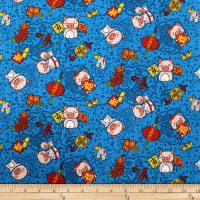 Trans-Pacific Textiles Oriental Year of the Pig Turquoise