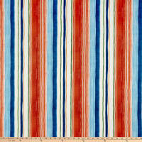 Tommy Bahama Home Playa Eterna Seascape Stripe Carib