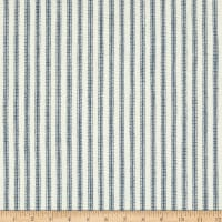 Waverly Pisa Ticking Stripe Woven Denim