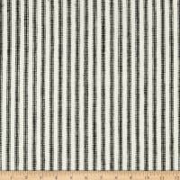 Waverly Pisa Ticking Stripe Woven Domino