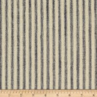 Waverly Pisa Ticking Stripe Woven Vintage