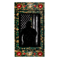 Military Marine Corps Cotton Panel Multi