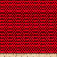 The Spice Market Texture Cotton Red