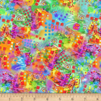 Crazy for Cats Kitty Doodle Multi