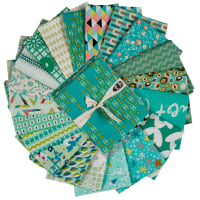 Art Gallery Exclusive Bundle 20 Fat Quarters Emerald