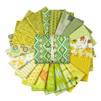 Art Gallery Exclusive Bundle 20 Half Yards Lime Green