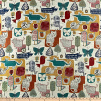 Swavelle Party Animal Jacquard Multi