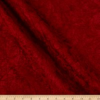 Richloom Durango Crushed Chenille Scarlet