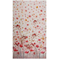 "Timeless Treasures Digital Floral Study 24"" Panel Floral Pink"