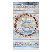"Timeless Treasures Cotton Blossom 24"" Grateful Panel Multi"
