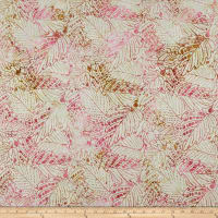 Timeless Treasures Tonga Batik Posey Leaf Satin